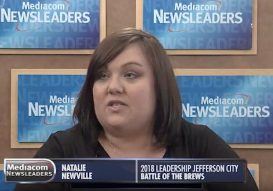 Natalie Newville on Mediacom Newsleaders